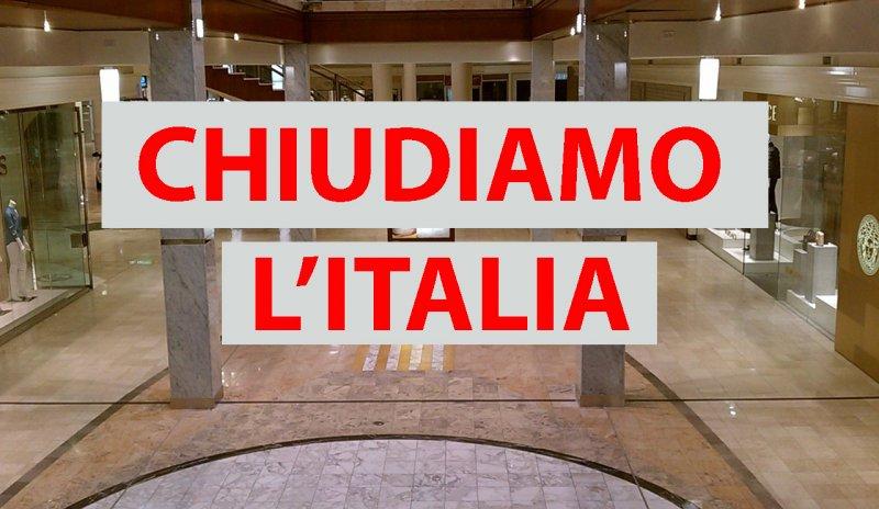 Chiudiamo l'Italia #coronavirus #covid19 #chiudiamotutto